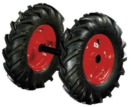 Культиваторы - MTD T 380 Пара резиновых колёс для фрезы