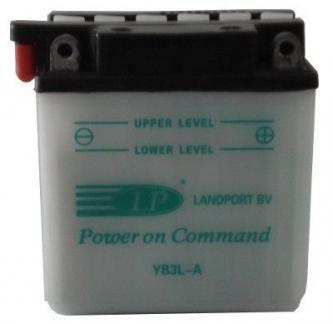 Авто аккумулятор MAKB Landport 12V/3Ah STFi AKB 99x57x111 R AK-YB3L-A Аккумуляторы