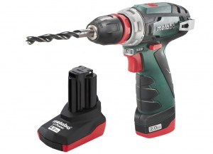 Metabo PowerMaxx BS Quick Pro/ 2,0 + 4,0Ah  аккумуляторный шуруповерт Screwdrivers accumulator