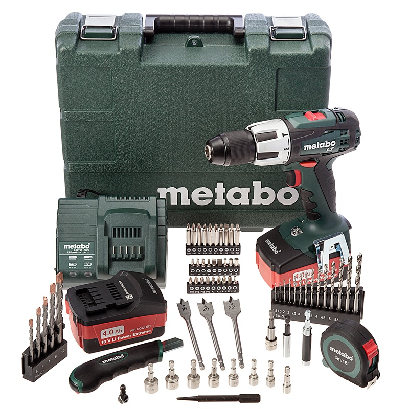 Metabo BS 18 Li Mobile Workshop аккумуляторный шуруповерт Screwdrivers accumulator