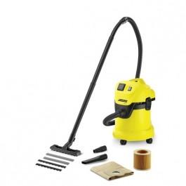 Пылесосы бытовые - Karcher MV 3 P Пылесос для сухой и влажной уборки с розеткой