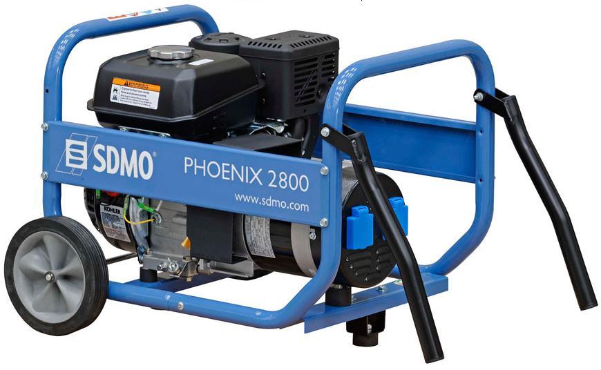 Генераторы - SDMO PHOENIX 2800 генератор