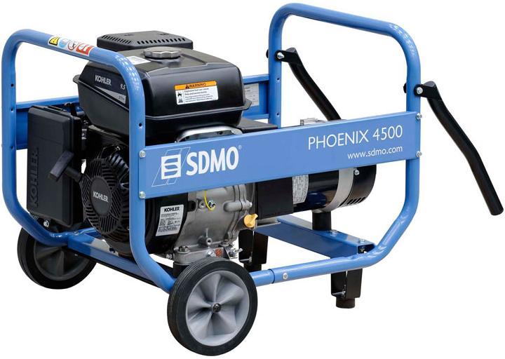 Генераторы - SDMO PHOENIX 4500 генератор