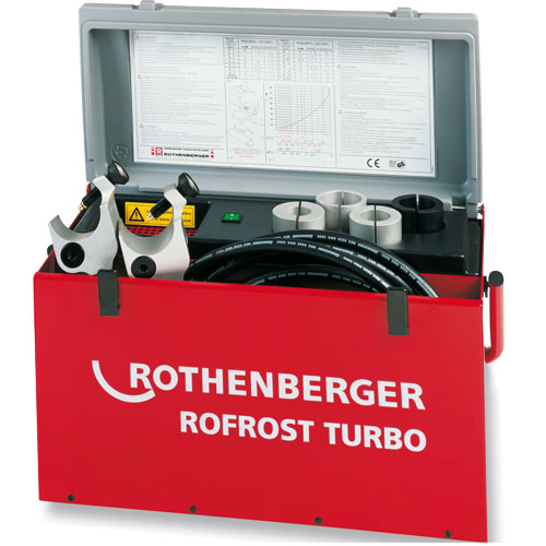 SANTEHNIĶU Instrumenti - ROFROST TURBO 2 cauruļu saldētājs - akmulatoru remonts