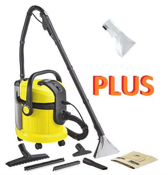 Пылесосы бытовые - моющие пылесосы - Karcher SE 4001 Plus. Моющий пылесос
