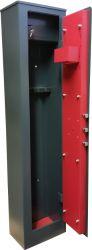 Для дома Сейфы - 3 местный раскладной диван текстиль до 500eur - Оружейный сейф SG-138K3 (RC-1S) (на 3 оружий)