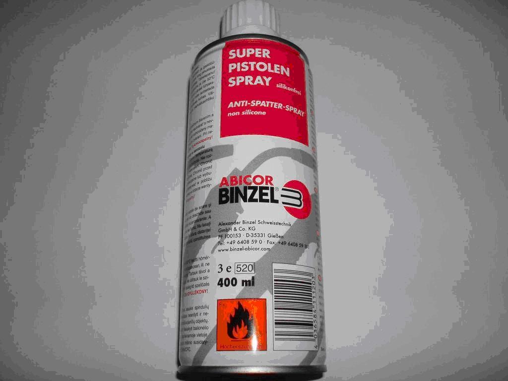 galdniecibas ierices - Šļakatu pret pielipšanas aerosols 400 ml - Ierīces metināšanai